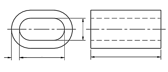 Tuleja zaciskowa DIN 3093 Al O7-O16